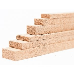 Flooring expansion joints cork strips