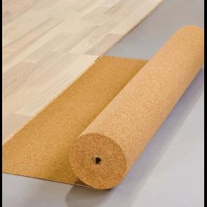 Cork flooring underlay