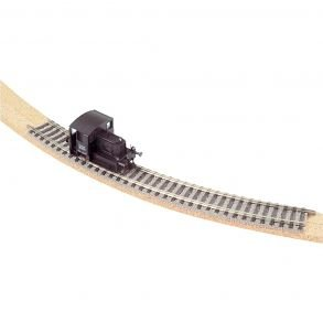 Cork model railway roadbed ballast