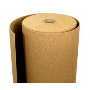 Agglomerated cork rolls - sheets in rolls