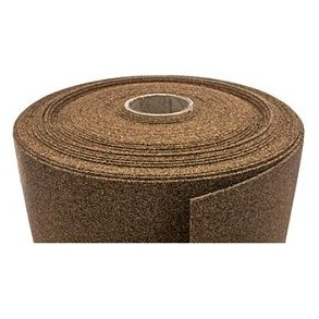 Rubber cork material