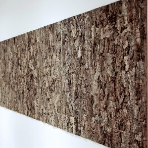 Natural decorative cork bark wall tiles and panels
