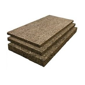 Thermal & sound insulation expanded cork boards