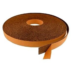 Rubber cork roller coverings (tapes)