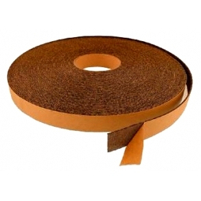 Rubber cork roller coverings