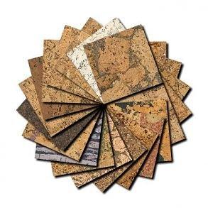 Výrobky z korku samples sets