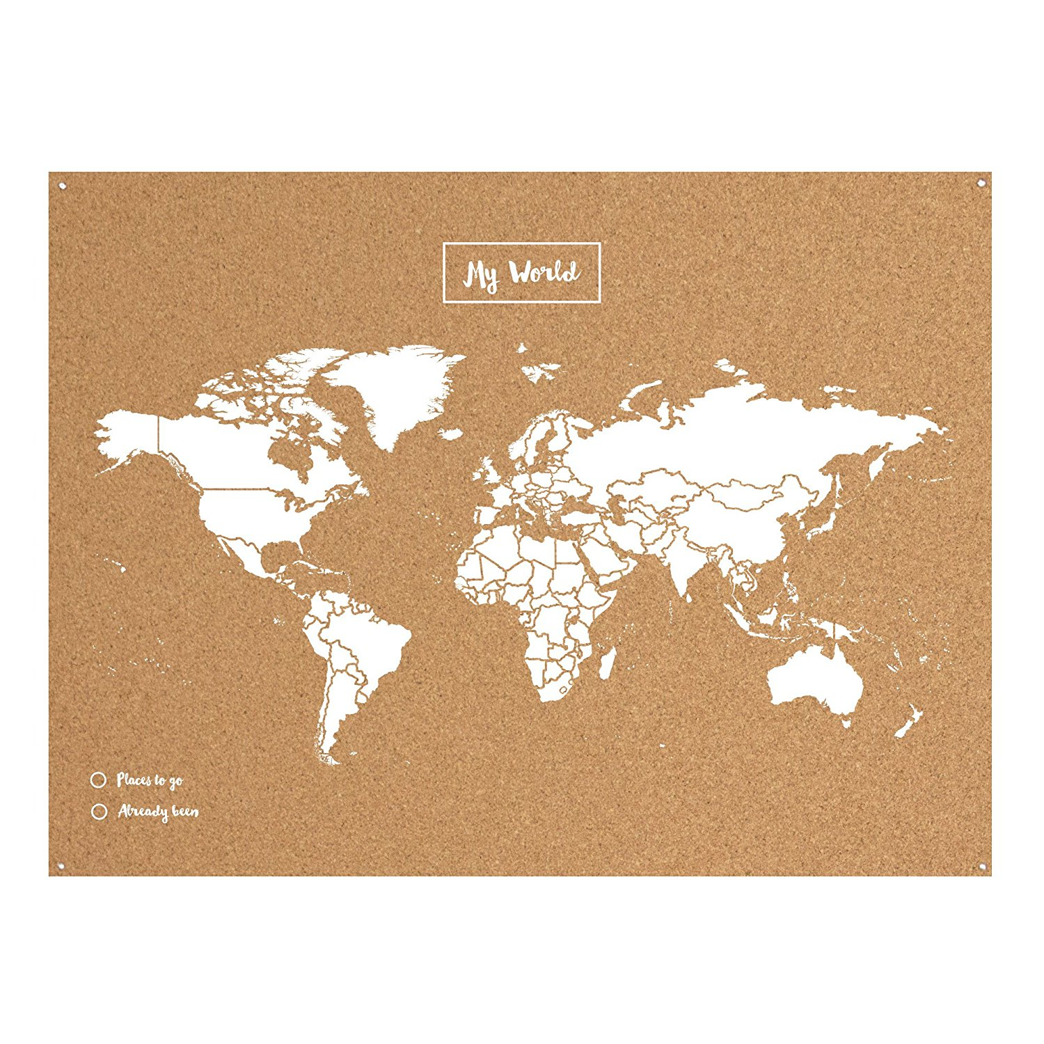 World map cork board experts in cork products gumiabroncs Image collections