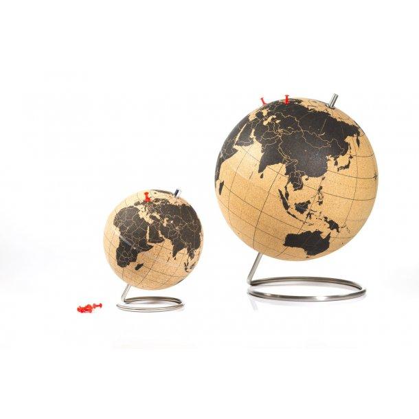 Cartina Mondo In Sughero.Mappamondo Grande Globo Di Sughero 25cm Nero Mappamondo Sughero Cartina Mondo Sughero Globi Di Sughero Esperti Di Sughero Naturale