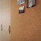 Large cork pinboards roll 5mm x 1m x 18m