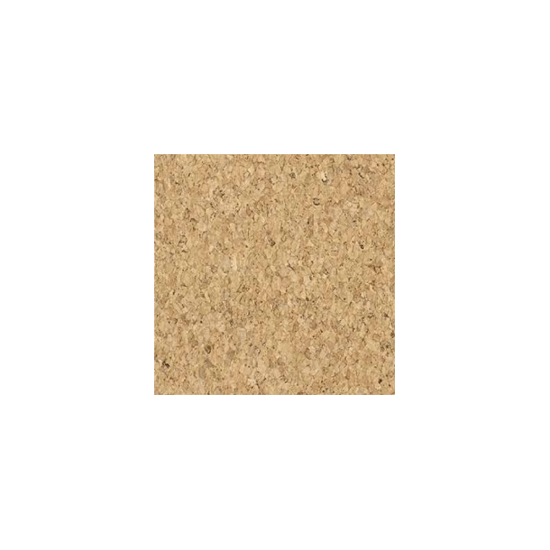 Corkoleum GRIT 3mm x 1,4m x 5,5m - natural cork flooring roll - Price per 7,7m2 (roll)