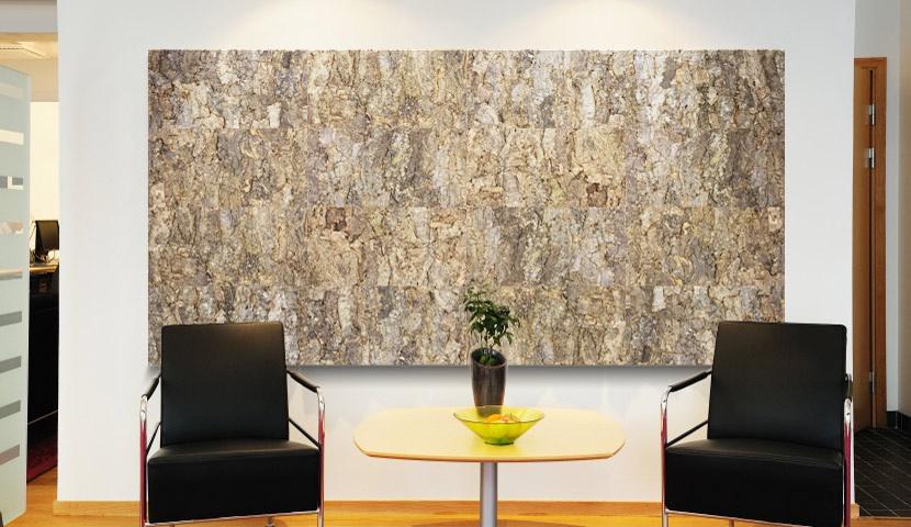 Decorative Wall Cork Bark 25x610x915mm