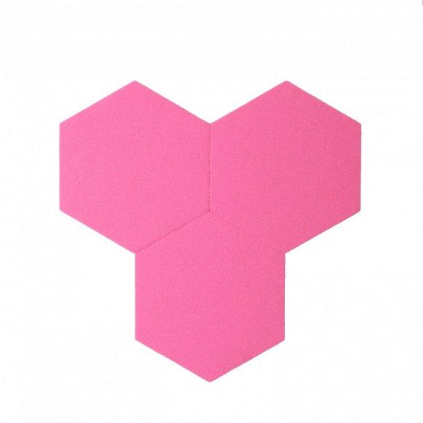 Plancha de corcho de colores decork felt line rosa - Planchas de corcho ...