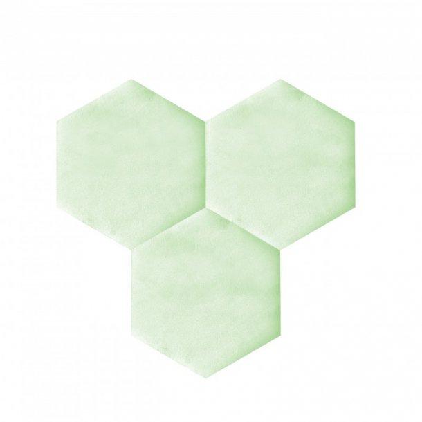 Plaque de li ge mural autocollant d coratif decork textil line vert clair - Plaque de liege mural ...