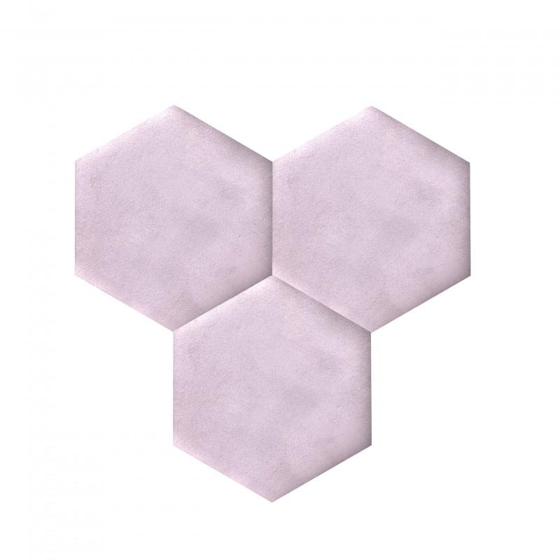 plaque de li ge d coration autocollant decork textil line violet clair. Black Bedroom Furniture Sets. Home Design Ideas