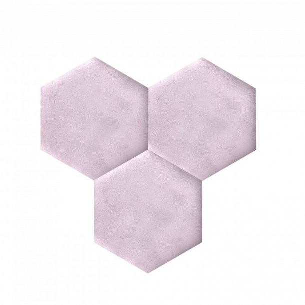 Decorative self-adhesive hexagon DECORK