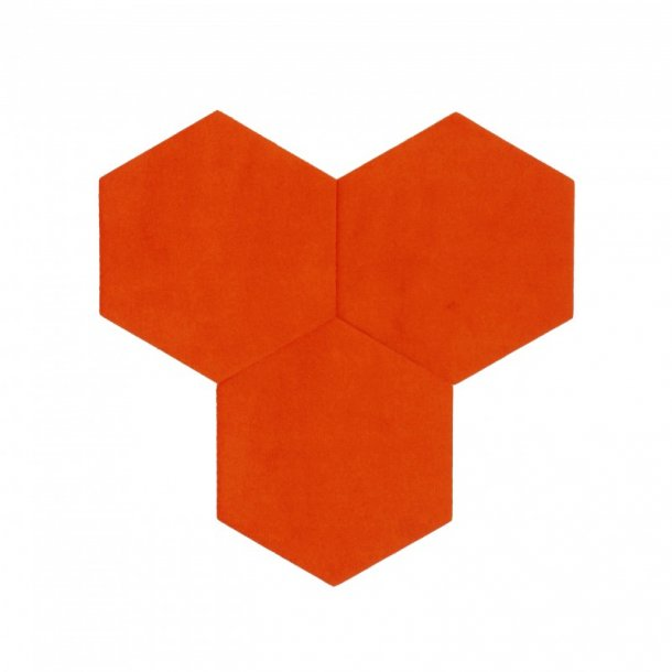 plaque de li ge mural autocollant d coratif decork textil line orange. Black Bedroom Furniture Sets. Home Design Ideas