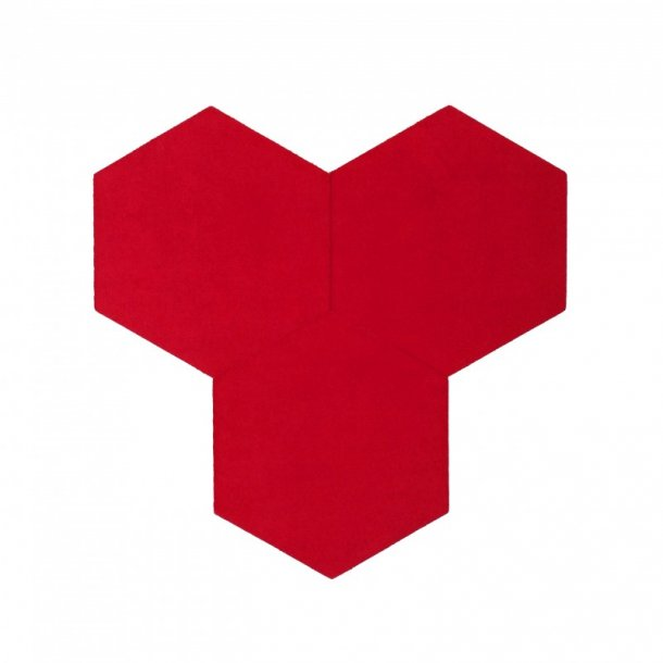 Decorative self-adhesive hexagon DECORK