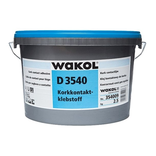Cork contact adhesive Wakol D 3540 2,5kg