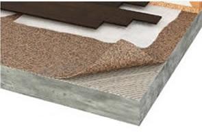 sous couche liege caoutchouc 6mm x 1m x 5m isolant liege sol pour tous les types de sol. Black Bedroom Furniture Sets. Home Design Ideas