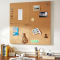 Medium-grained agglomerated cork board 10x640x950mm - BESTSELLER!