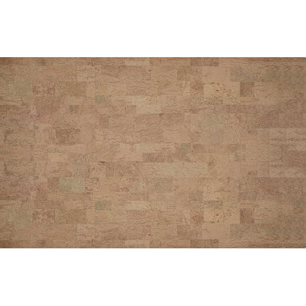 Decorative cork wall tiles MALTA CHAMPAGNE 3x300x600mm - package 1,98 m2