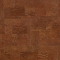 Decorative cork wall tiles MALTA CHESTNUT 3x300x600mm - package 1,98 m2