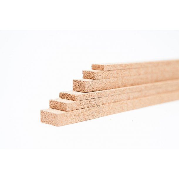 Cork strips 7x23x950mm for expansion joints - 28 pcs.