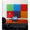 Self adhesive GREEN cork board wall 5x455x610mm