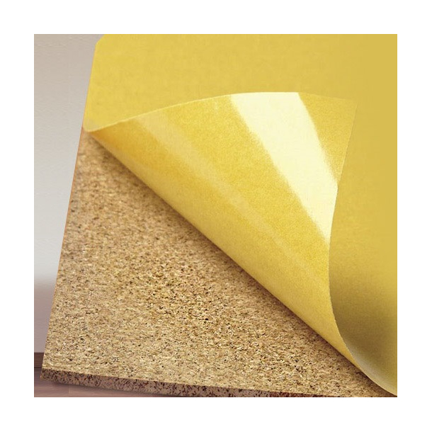 Self adhesive cork roll 10mm x 1m x 2m - Cork Pinwall
