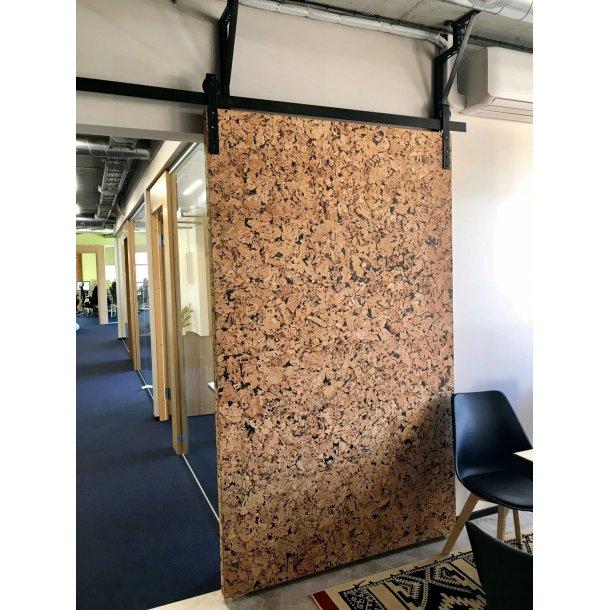 Plaque de liege mural d coratif vario negro 3x300x600mm colis 1 98 m2 - Plaque de liege deco ...