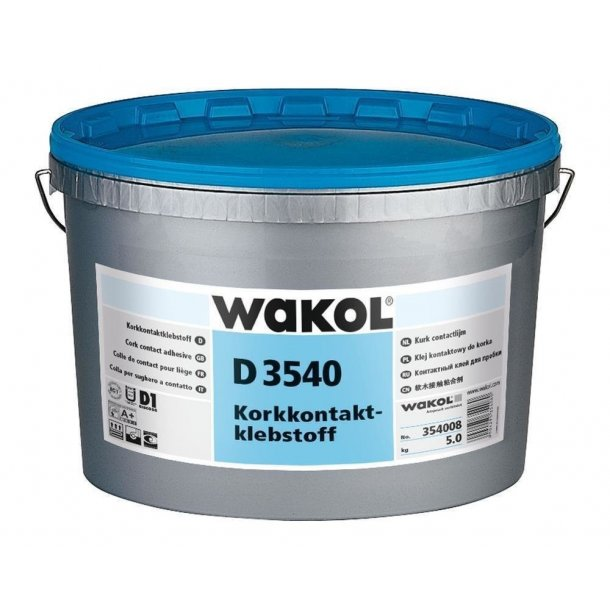 Cork contact adhesive Wakol D 3540 5kg