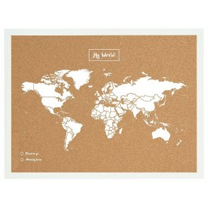 World Map Cork Board Experts In Cork Products